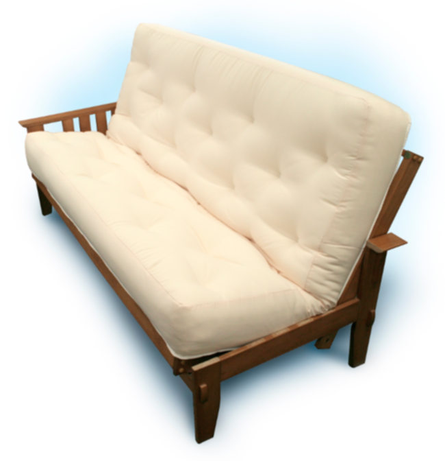 Image Of Futon Mat On Frame Jpg